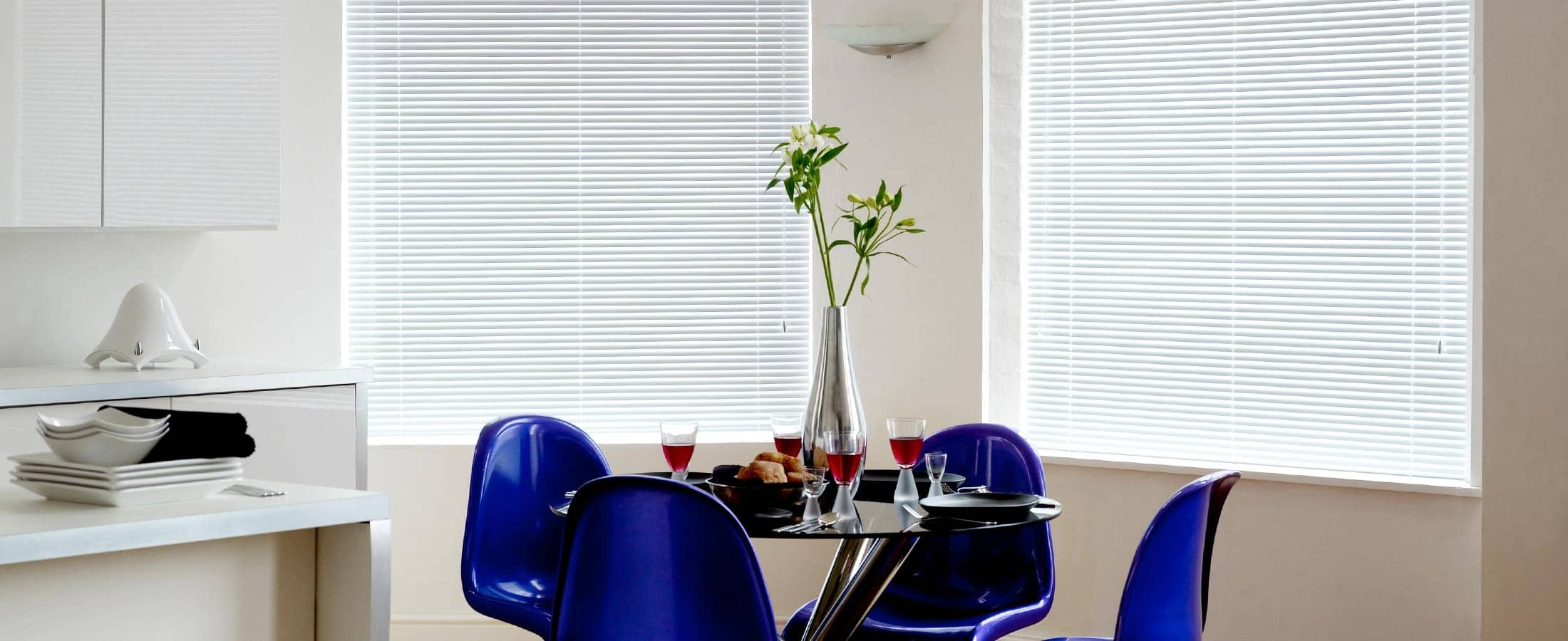 Venetian Blinds in the Dining Room