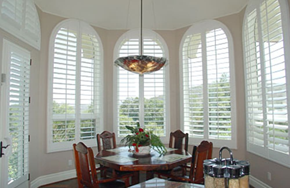 The Best Blinds for Arched Windows