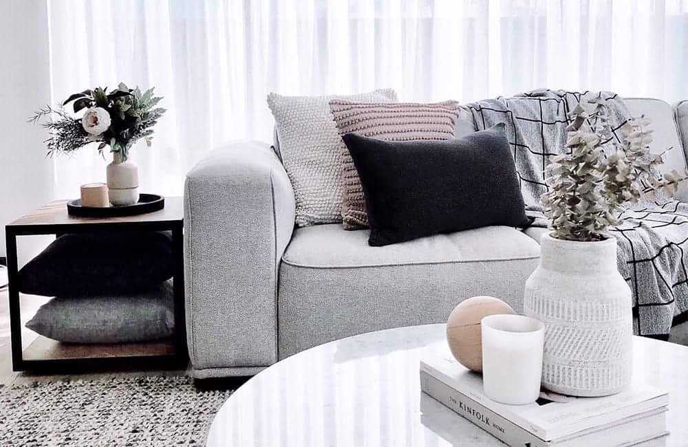 Easy interior styling: 6 modern living room ideas