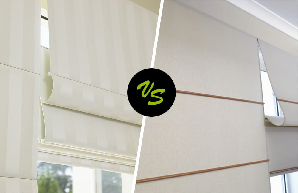 Roman Blinds vs Jamaican Blinds - Our Review | ABC Blinds Blog
