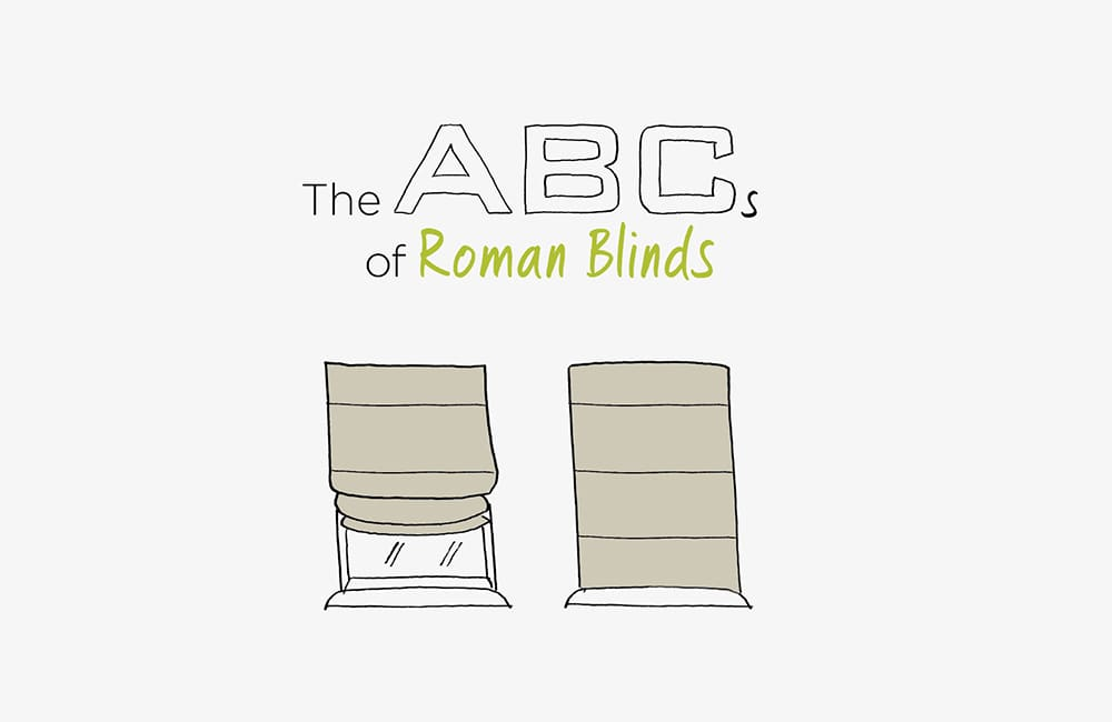 The ABC's of Roman Blinds