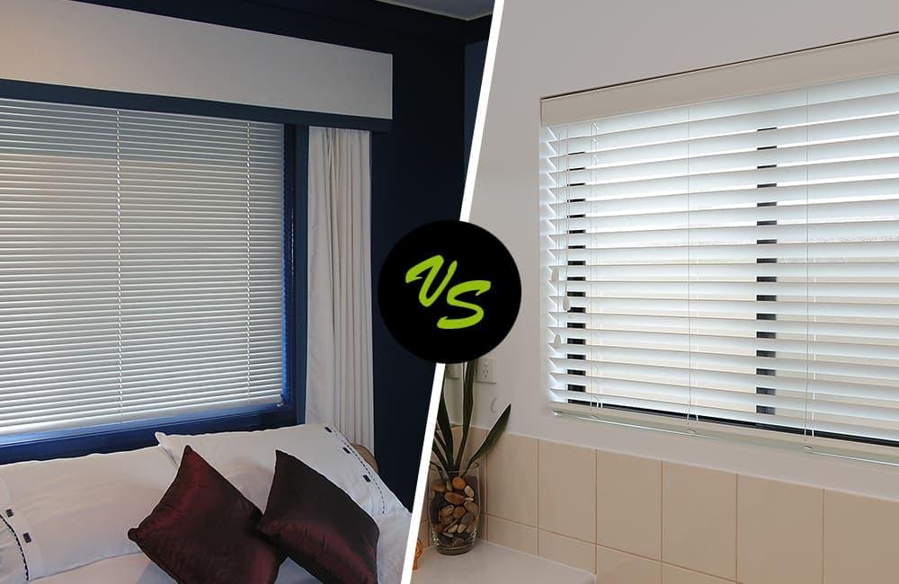 Aluminium vs Timber Venetian Blinds: ABC Blinds Blog