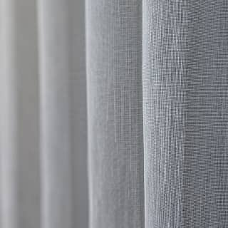 Closeup Grey Curtain Fabric