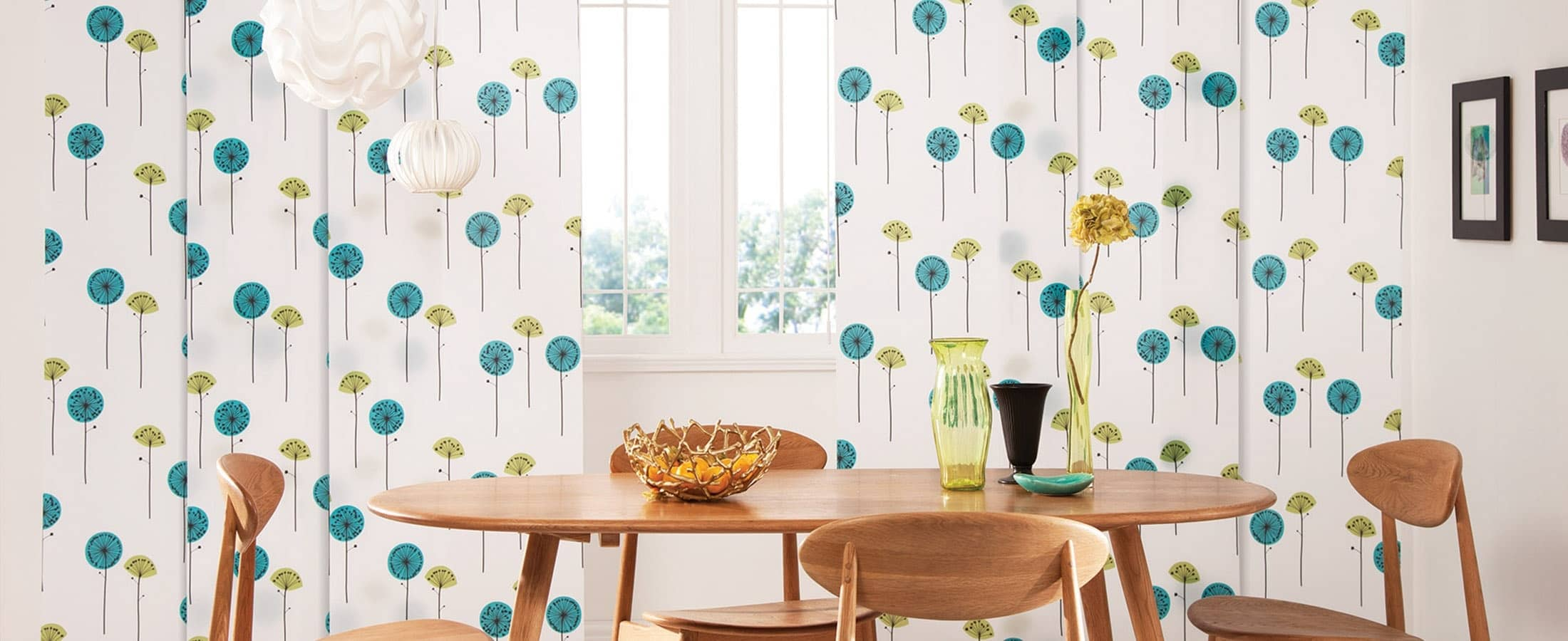 Kids Patterned Panel Blinds