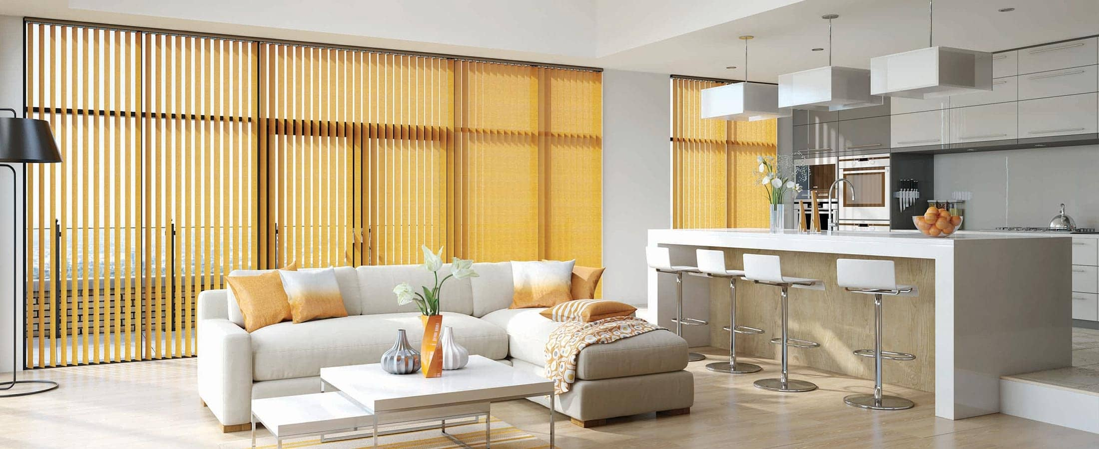 Vertical Blinds Perth Home Shot