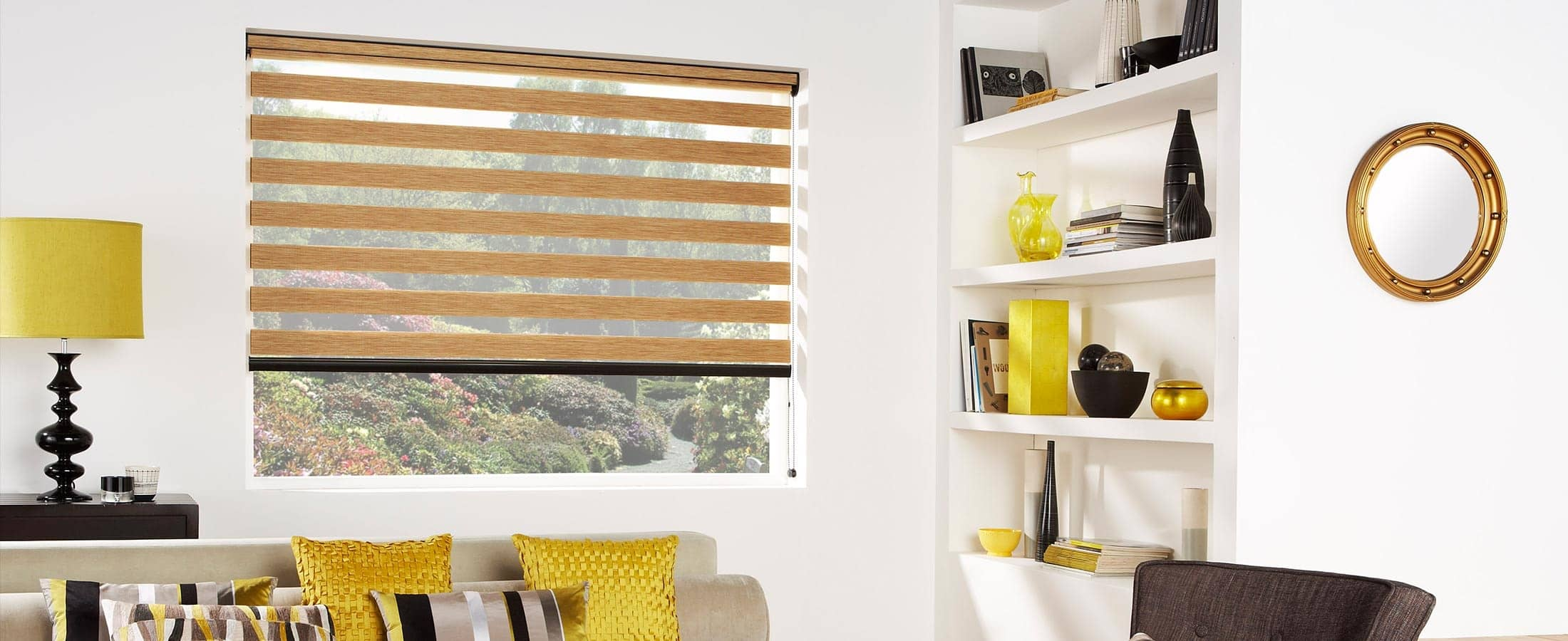 Vision Blinds Florence Oak