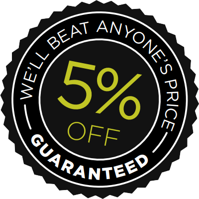 5% Price Beat Guarantee